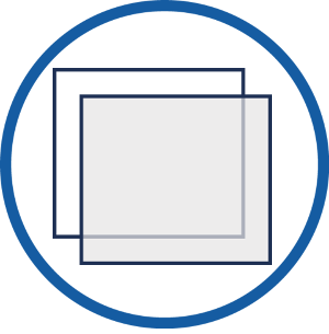 Secondary Glazing DIY Liftout Panel Icon