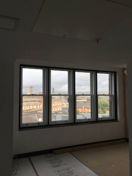 Interior view of Secondary Glazing Leicester Installation carried out by MW Window Systems
