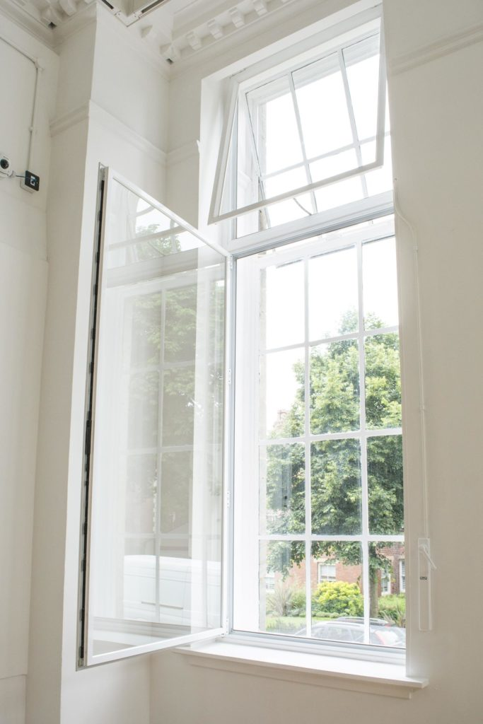 Secondary Double Glazing retaining function of original window