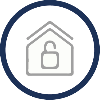 Benefits of Secondary Glazing - Increased Security icon