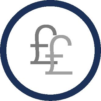 Benefits of Secondary Glazing - Money saving icon