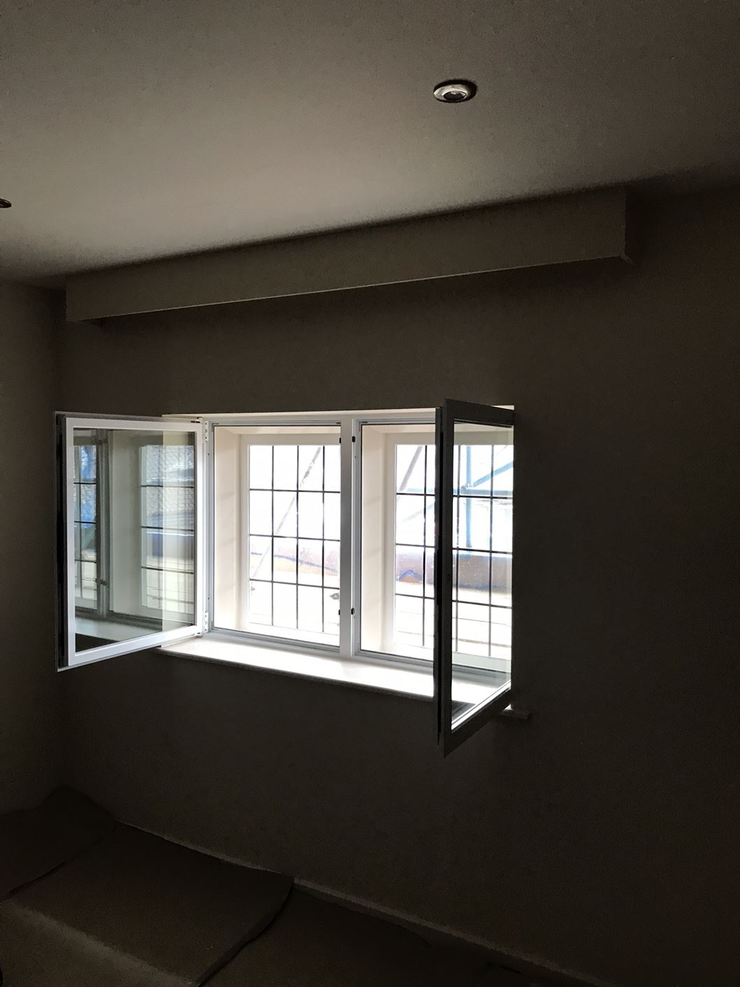 Interior view of Secondary Glazing Chesterfield Installation carried out by MW Window Systems