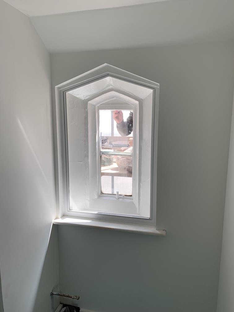 Installation of Secondary Glazing Stoke
