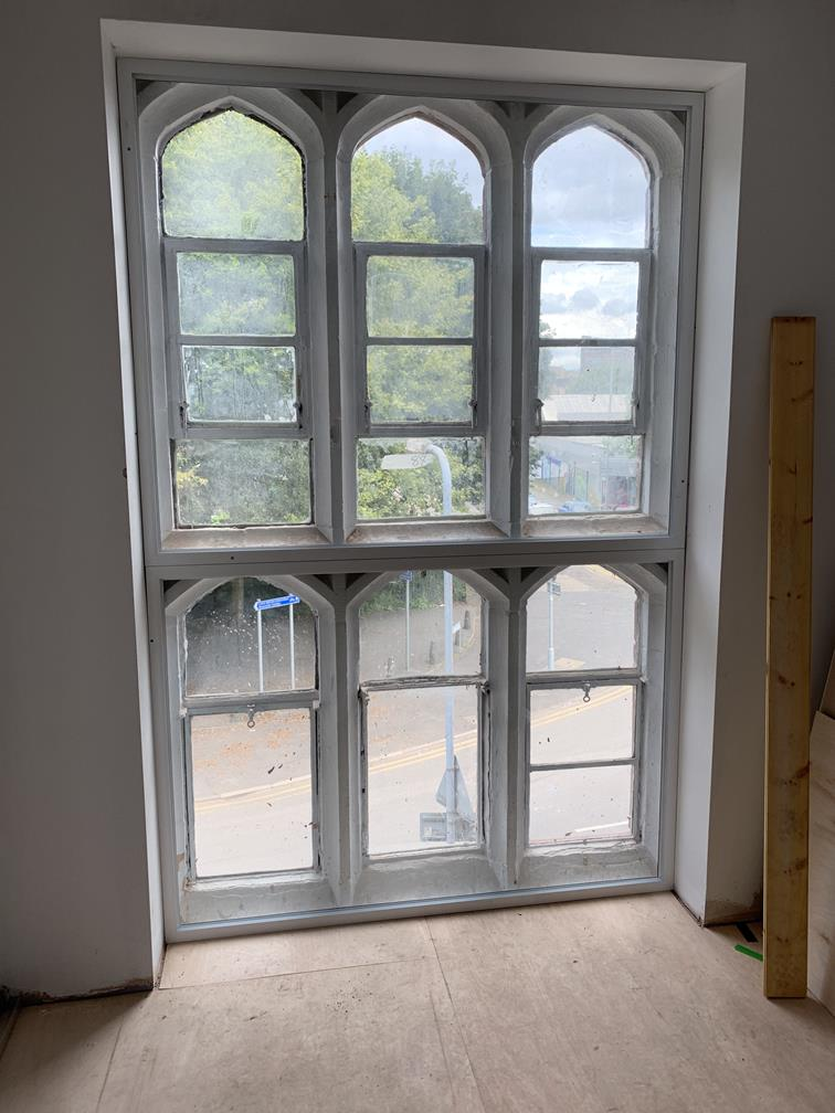 Installation of Secondary Glazing in Stoke